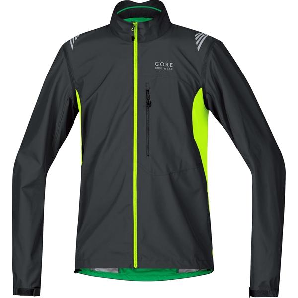 Gore Bike Wear E WS AS Zip-Off Jacket black/neon yellow