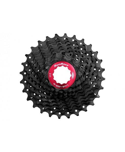 Sunrace Kassette CSRX1 11-fach 11-28 Rennrad Schwarz
