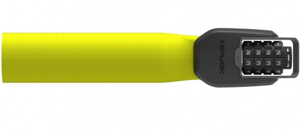 Hiplok Spin Bicycle Lock neon yellow