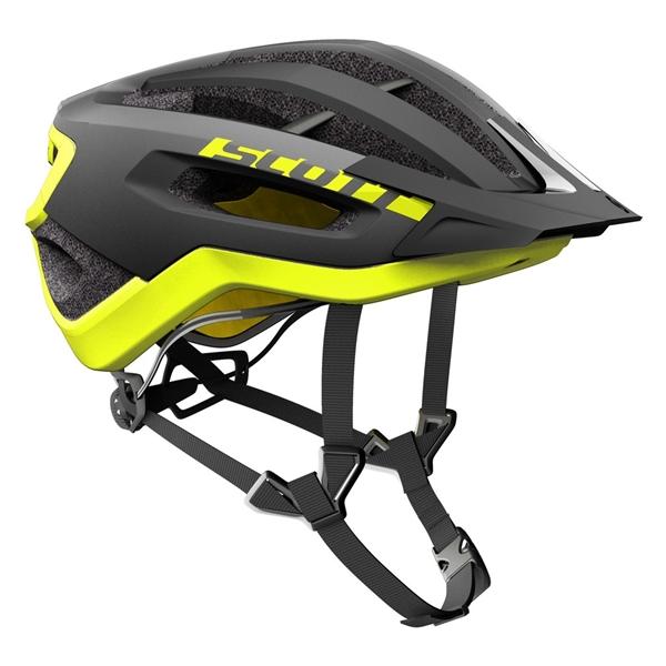 Scott Helm Fuga Plus Rev black yellow RC