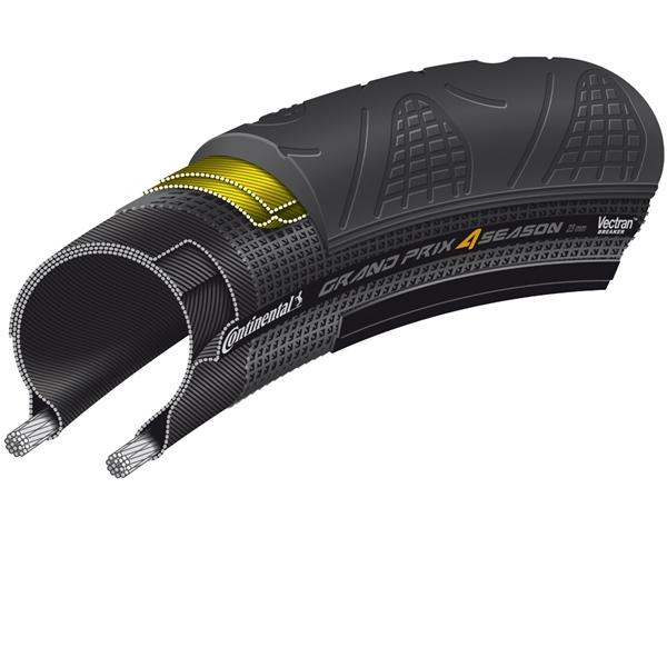 Continental Grand Prix 4 Season 28-622 DuraSkin faltbar Black Edition