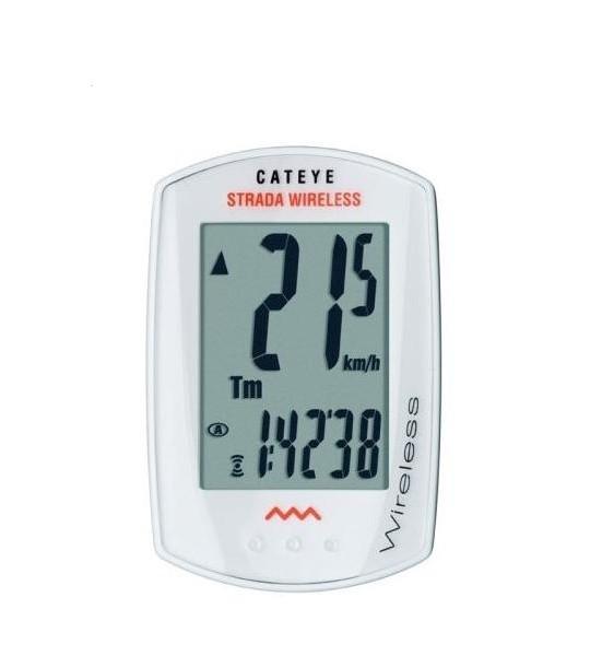 Cateye bike computer Strada CC-RD300W white - wireless