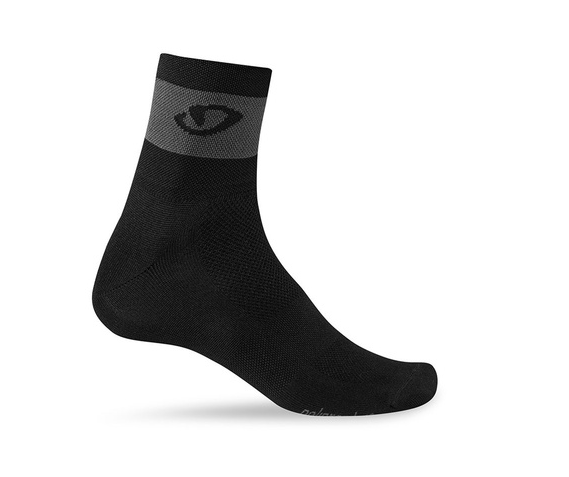 Giro Comp Racer Socken black/dark shadow