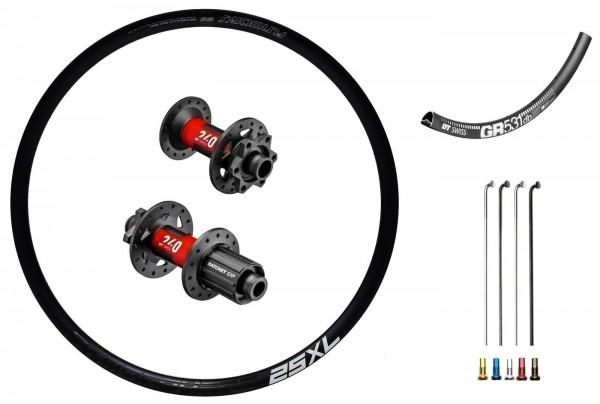 "DT Swiss 240 EXP Disc IS Custom Laufradsatz Rennrad/Gravelbike 27,5"""