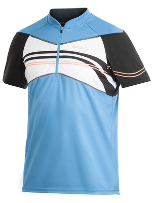 Craft Active Bike Loose Fit Jersey blau / schwarz %