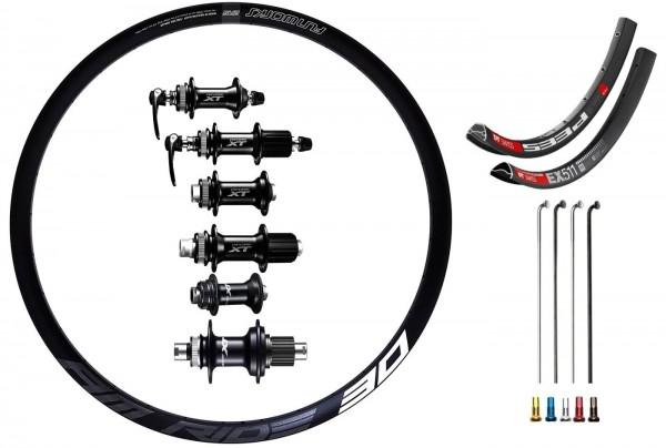 Shimano XT Custom Laufradsatz für Trekking 28 Zoll