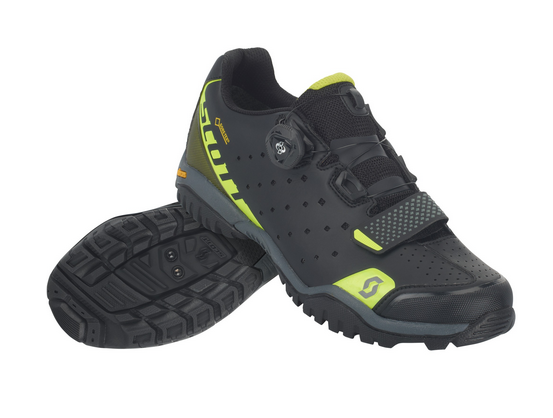 SCOTT Sport Trail Evo Gore-Tex® Shoe caviar black/sulphur yellow #Varinfo