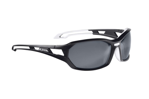 Alpina glasses Berryn P black matte-white
