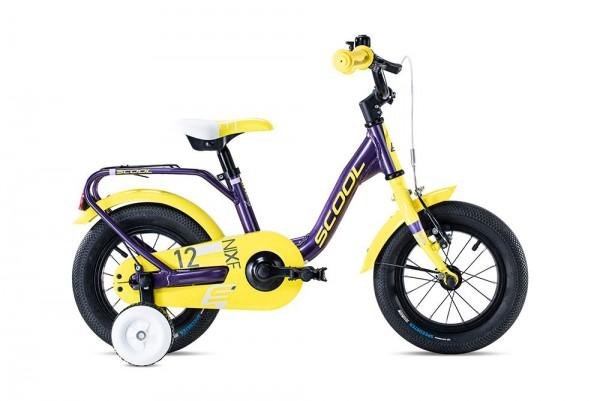 S´COOL niXe 12 Aluminium 1-Gang purple metallic/yellow
