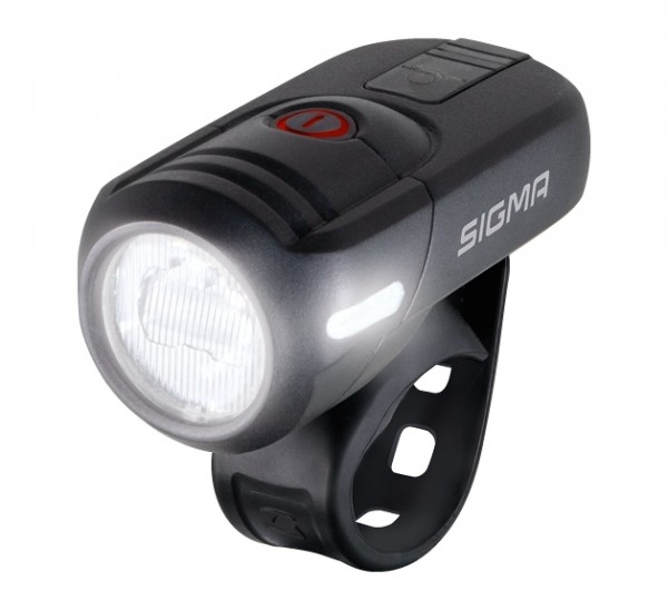 Sigma Beleuchtung Aura 45 LED-Frontlampe USB mit STVZo-Zulassung