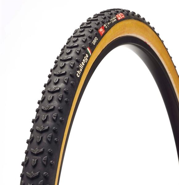 Challenge GRIFO PRO OT 700X33C black / brown - Cyclocross Tyre