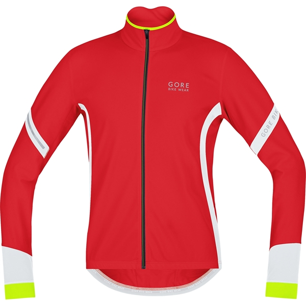 Gore Bike Wear Power 2.0 Thermo Jersey red / white