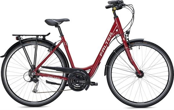 "Falter City/Urbanbike C 3.0 RD 28"" glänzend rot"