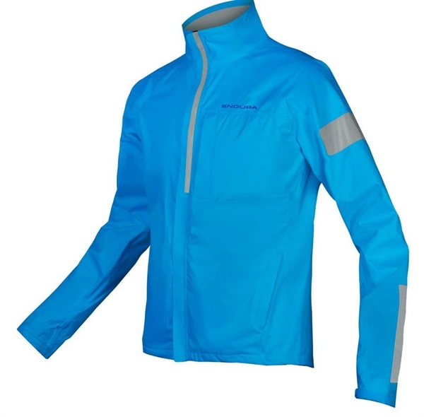 Endura Urban Luminite Jacket hi-viz blau