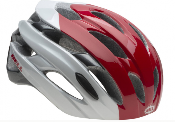 Bell Event Helmet white/red superficiall