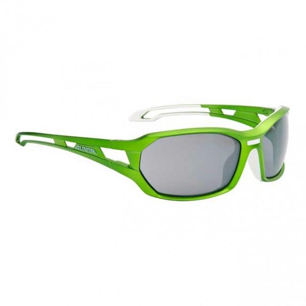 Alpina glasses Berryn green-white