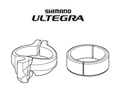 Shimano Ultegra Di2 Umwerferschelle für Anlötumwerfer