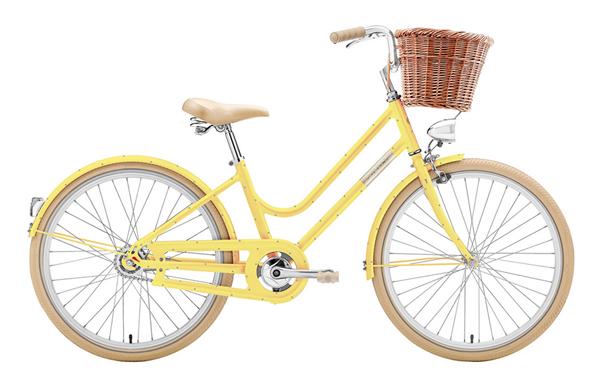 "Creme Cycles Mini Molly 24"" 3-speed mango"