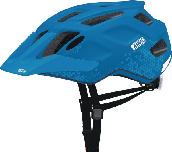 Abus MTB Helm MountK trey blue