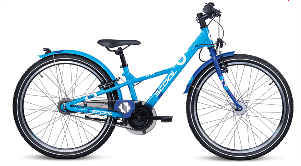 S´COOL XXLite 24 alloy 7-speed blue/deepblue