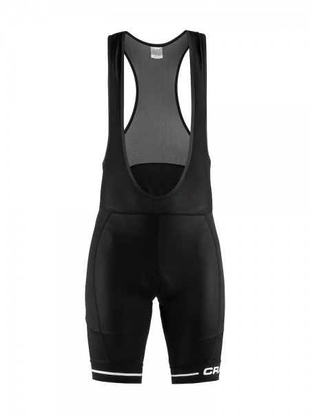 Craft Rise Bib Shorts black/white