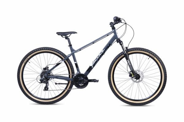 S´COOL Xroc Disc 27,5 Aluminium 24-Gang Altus black/grey matt
