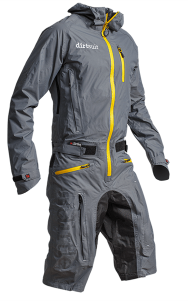 Dirtlej Dirtsuit Classic Edition grey/yellow