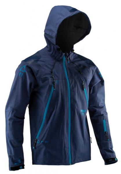 Leatt DBX 5.0 All Mountain Jacket Blue ink