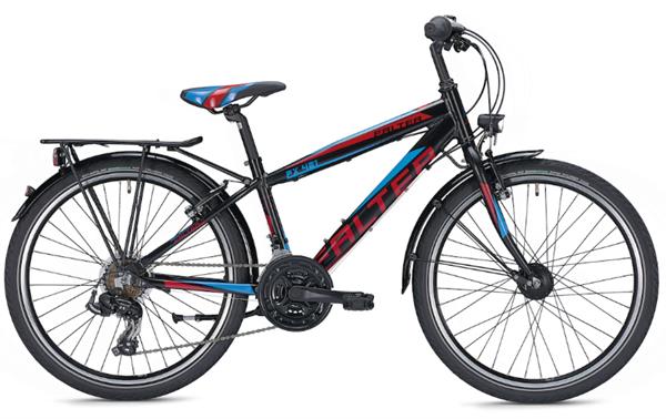Falter FX 421 Pro 24 inch Diamant black Kids Bike