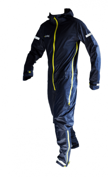 Dirtlej Commutesuit Road Edition - navyblue/lime