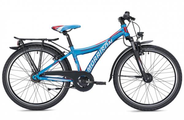 Morrison Mescalero S24 24 inch Y blue/orange Kids Bike