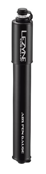 Lezyne Gauge Drive HV Minipumpe shiny-black