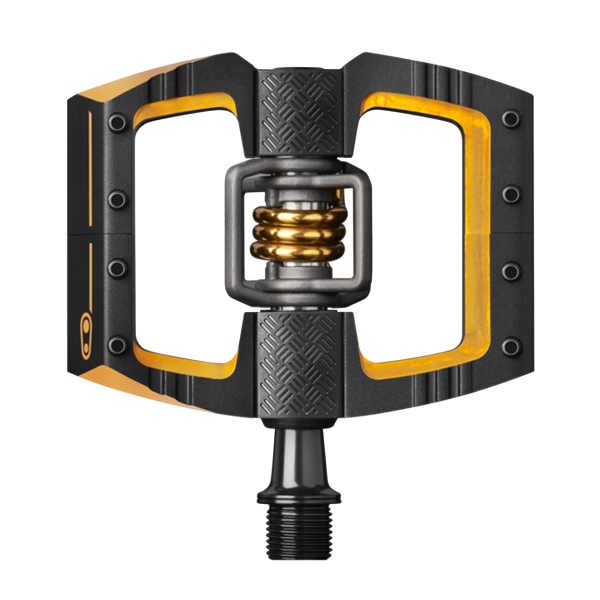 Crank Brothers Mallet DH 11 Pedal - schwarz/gold