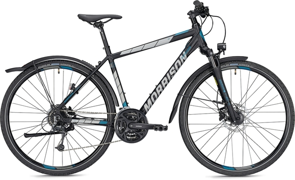 """Morrison Crossbike X 3.0 Men L (55) 28"""" matt black"""