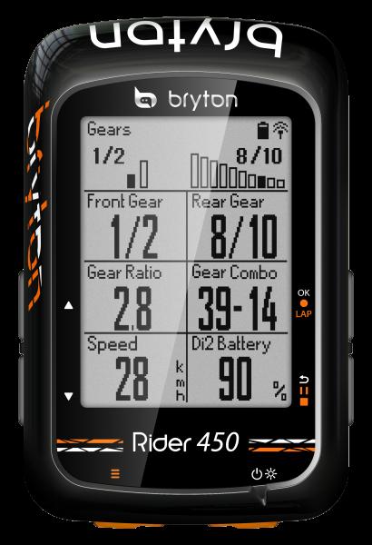 Bryton Rider 450 Herzfrequenz 2019