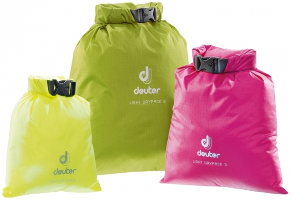 Deuter Light Drypack 1 neon yellow
