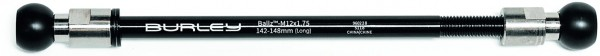 Thru axle Burley Coho Ballz M12 X 1.75, 142-148mm, long
