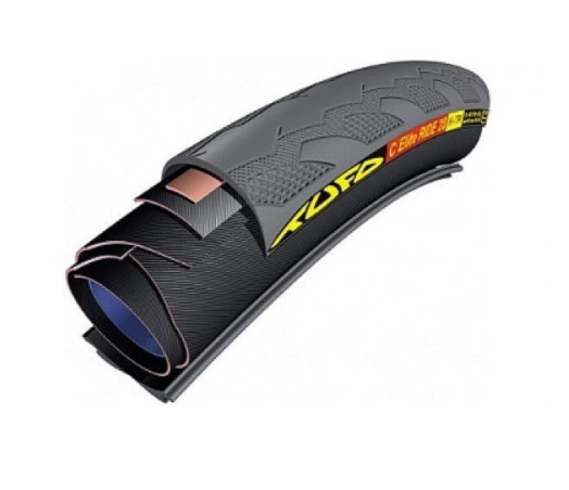 Tufo C Elite Ride 25 mm tubular clincher race tyre black