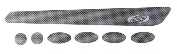 BBB Rahmenschutzsticker BikeSkin BBP-51 Carbon Look