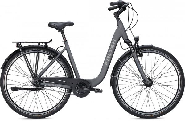 """Falter City/Urbanbike C 4.0 Plus S (45) 28"""" matt titanium"""