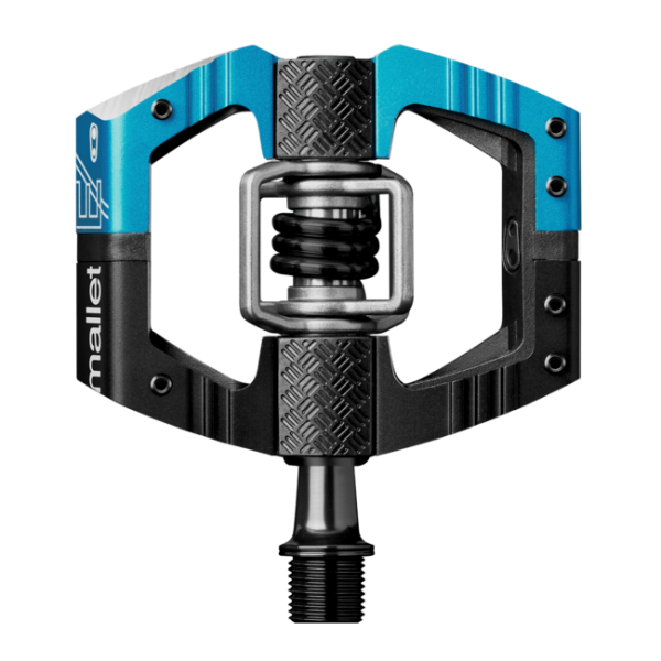 Crank Brothers Mallet LS Enduro Pedal - black/electric blue