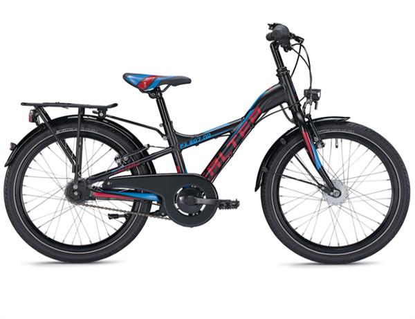 Falter FX 207 ND 20 inch Y-Lite black/ red Kids Bike