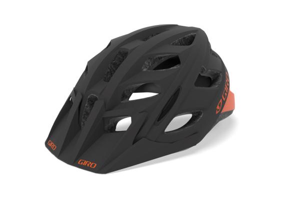 Giro Hex Helm mat warm black/orange