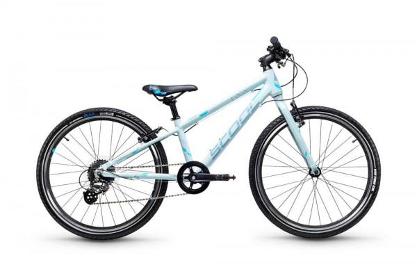 S´COOL liXe race 24 Aluminium 8-Gang icegrey/blue matt