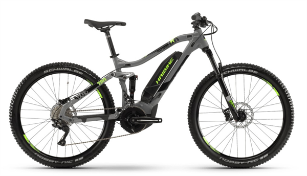 6b6dfa23614 Haibike SDURO Fullseven 4.0 gray/black/green men 2019 | buy |  ActionSports.de | Bike Webshop