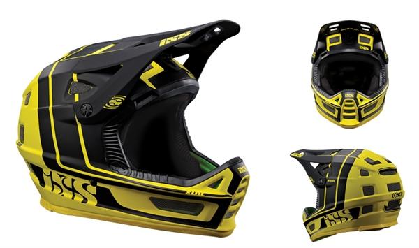 IXS Xult Fullface Helm - yellow/black