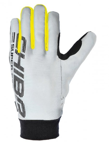 Chiba Pro Safety Handschuh silber