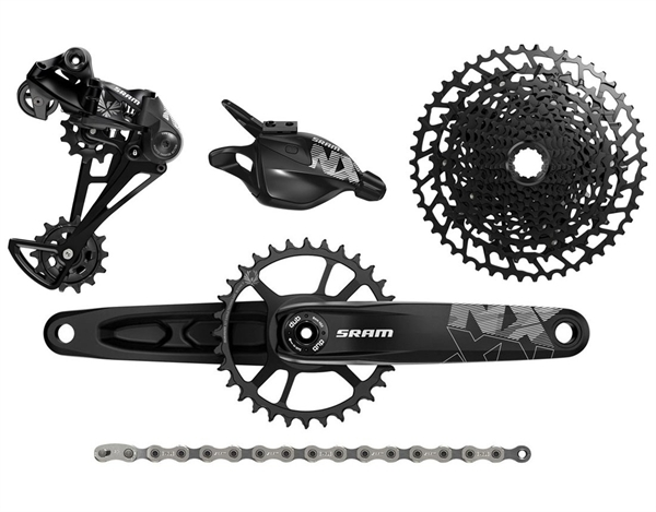 SRAM Groupset NX Eagle - DUB 1x12-speed - black  904ed2612
