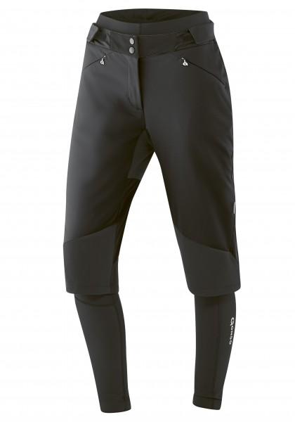Gonso Turia Damen 3-in-1 Softshell Hose black