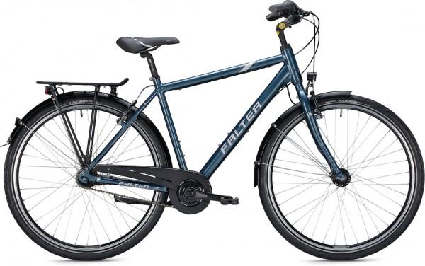 "Falter City/Urbanbike C 3.0 28"" glänzend blau"